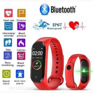 Многофункциональный смарт браслет М4-R с Bluetooth 4.0, сенсорное управление, монитор сна