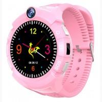 Детские сенсорные смарт часы с GPS и WiFi S02
