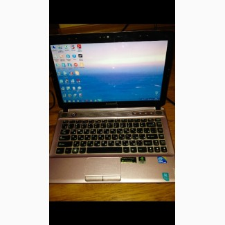 Легкий игровой 4-х ядерный ноутбук Lenovo Z360