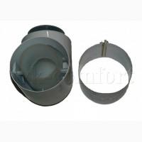 Отвод коаксиальный 87 80/125мм.Vaillant арт. 303210 из ППР