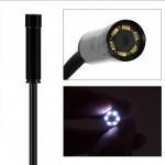 Эндоскоп бороскоп гибкая видеокамера 720P (HD) универсальный для Android и ПК