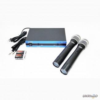 Радиосистема SHURE WM-502R база 2 радиомикрофона