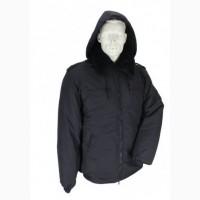 Куртка для охранных структур на меху с капюшоном
