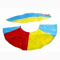 Надувной набор пляжный мяч + круг, детский, разноцветный