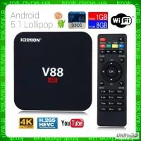 Андроид ТВ-приставка V88 (T95N, MXQ Pro) smart tv box